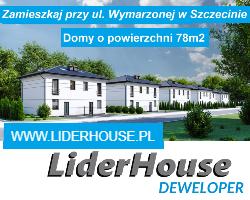 LiderHouse: Bezrzecze, ul. Maciejki. Domy w zabudowie bliźniaczej o pow. 78m2. Ogród od 80m2 do 180m2